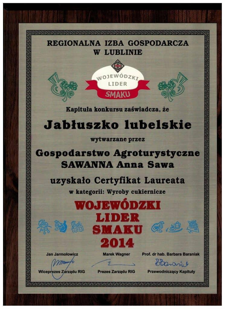 Jabłuszko lubelskie - wojewódzki lider smaku